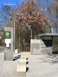 Dachau otobüs duragı