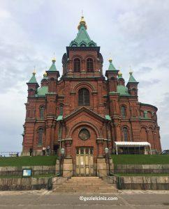 Helsinki gezilecek yerler kırmızı kathedral