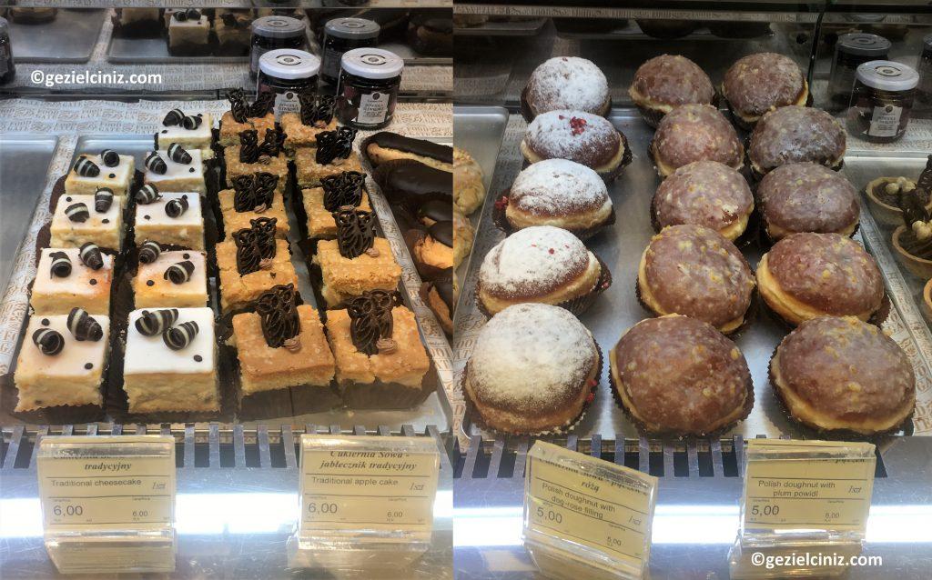 Krakow'da ne yenir tatlı