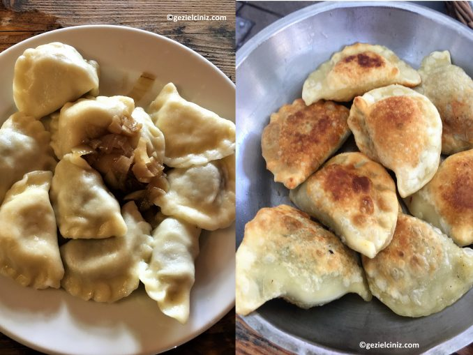 what to eat in Krakow Pierogi all